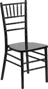 Black Supreme Wood Chiavari Chair