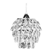 Crystal Tulip Shaped Chandelier