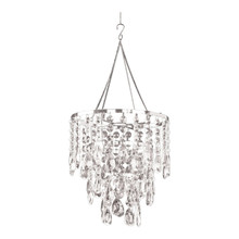 Crystal Diamond Tear Drop Chandelier