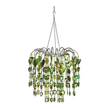 Lime Waterfall Chandelier