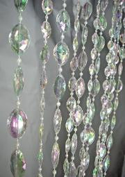 Large Iridescent Crystal Pendants - 3' x 6'
