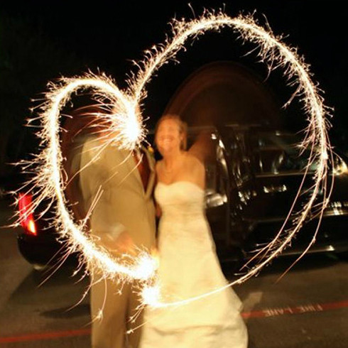 Wedding Sparklers Loading Zoom