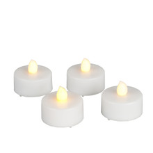 Soft wick Flickering Tea Lights with Timer - 24 Pieces