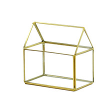 Gold House Geometric Glass Terrarium - 8 Pieces