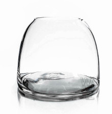 Clear Dome Shaped Terrarium Bowl Glass Vase, 5.6 Inches High - 6 Pieces