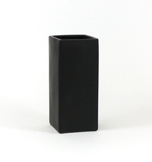 "5"" x 12"" Black Tall Square Block - 6 Pieces"