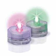 "1""D LED Bright Tea Light Color - 12 Pieces"