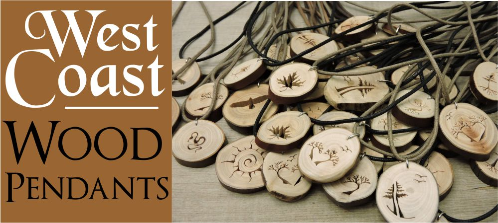 Wood Pendants