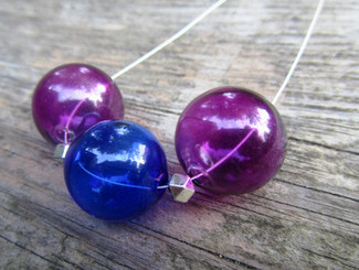 treat designs bubble glass pendant