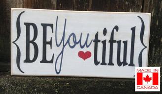 BeYoutiful sign