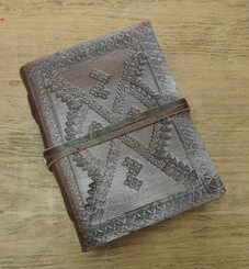 xtra small leather journal