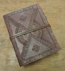Old World Journal - tooled - front cover