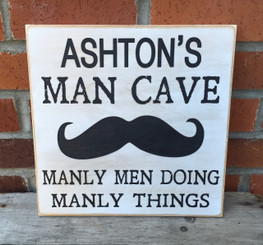 Man Cave Manly Men Doing Manly Things