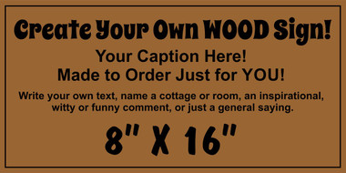 Rustic Custom Wood Sign Make Your Own Business Sign
