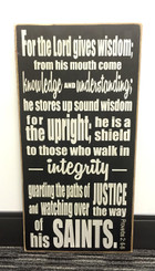 Proverbs 2:6-8 sign