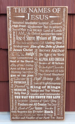 The Names of Jesus Sign