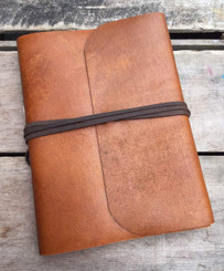 Buffalo Leather Journal with Himalayan Lokta Paper
