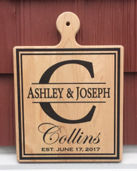 Personalized Cutting Board with Established Date