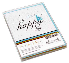 All Occasion Plantable Seeded Paper Greeting Card Set