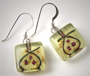 Momo Glassworks Pomegranate Earrings