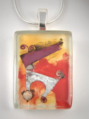 Momo Glassworks Playtime Glass Pendant