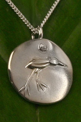 Chickie Bird Medallion Necklace - Adventurous