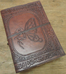 fairy leather journal