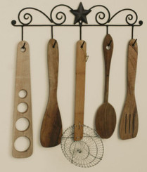Primitive Star Utensil Rack