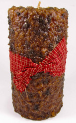 Country Affair Pillar Candle 3x6 - Ginger Spice
