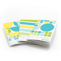 Thought Plotters Plantable Pocket Notebooks 3pk - Blue