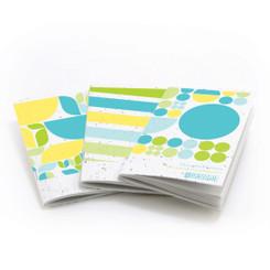 Thought Plotters Plantable Pocket Notebooks 3pk - Blue