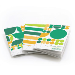 Thought Plotters Plantable Pocket Notebooks - Green