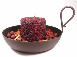 Rustic Black Primitive Gravy Pan