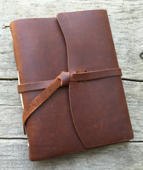 "Rustico ""Good Book"" Leather Journal 5"" x 6.5"""