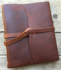 Leather Journal - Travelers - Saddle