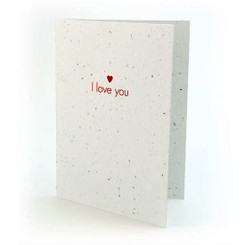 seed card - i love you