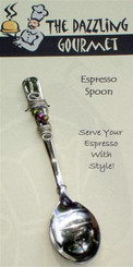Beaded Espresso Spoon
