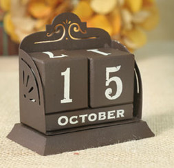 Primitive Country Perpetual Calendar