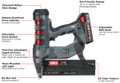 Senco Fusion F-16S Straight 16 Ga. 18V Cordless Finish Nailer