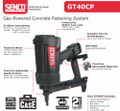 "Senco GT40CP Concrete & Steel Pin Nailer - 1/2"" - 1-1/2"" - 7K0001N"