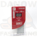 "Senco ZX16EAANR 1-3/8"" 21 Gauge Galv. Medium Head Pins - 1,000 per Pack"