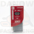 "Senco ZX21EAANR 2"" 21 Gauge Galv. Medium Head Pins - 800 per Pack"