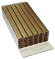 "1404 C LF 5/32"" Length Liquor Finish Staples 1400-4 - 10,000 per Box"
