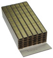 "1405 C LF 3/16"" Length Liquor Finish Staples 1400-5 - 10,000 per Box"