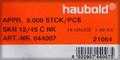 "18 Gauge 1-3/4"" Galv. Brad Nails - 5,000 per Box"