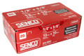 "F06BAAP 3/8"" Length 20 Gauge Galvanized Staples - 24,000 per Box - SENCO Genuine Staples"
