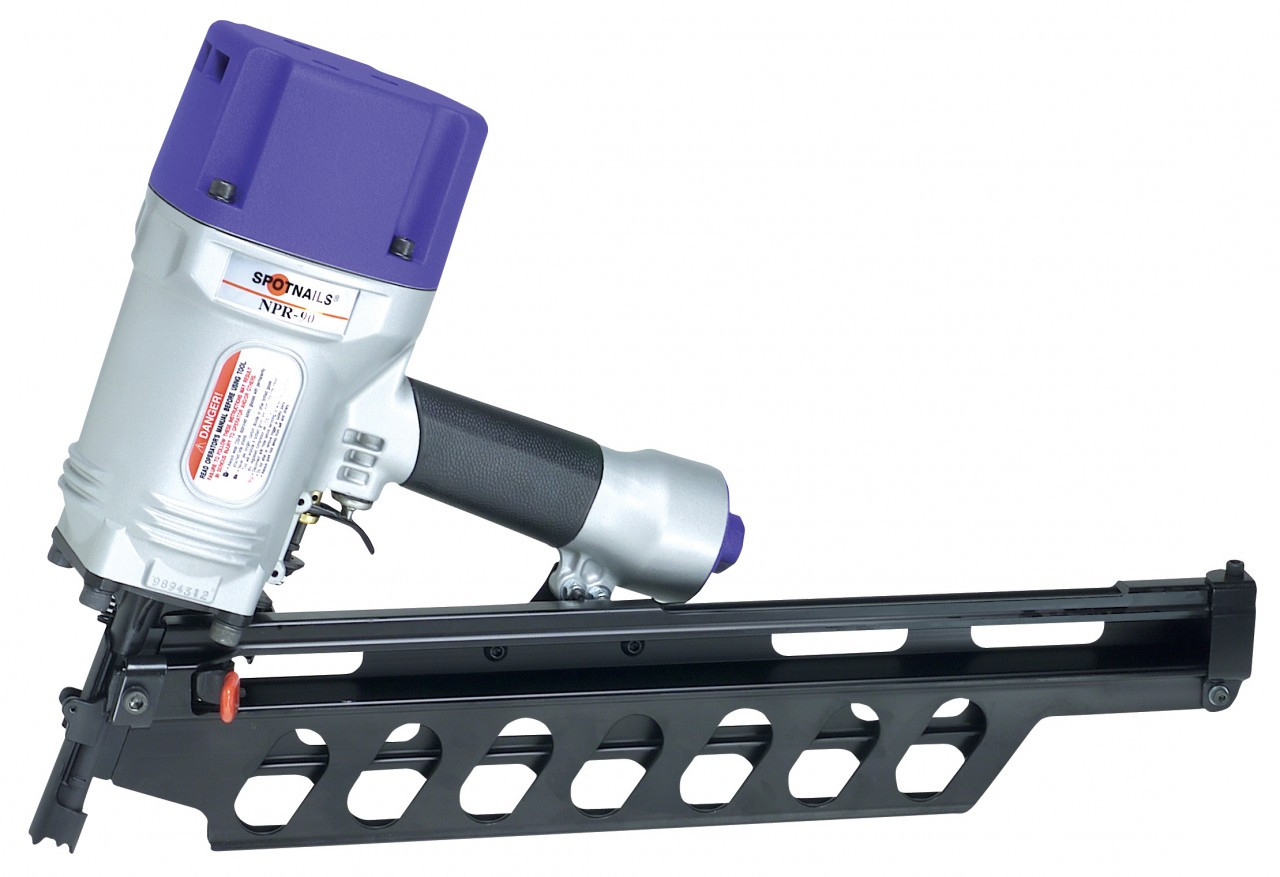 Spotnails NPR90 21 Degree Full Round Head Framing Nailer - Danow ...