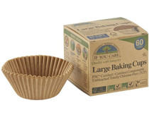 Unbleached Baking Cups: 60 - OUT OF STOCK