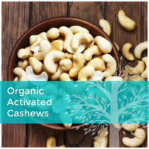 ORGANIC ACTIVATED CASHEWS: 300g