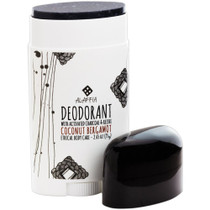 Deodorant with Activated Charcoal & Reshi: Coconut Bergamot 75g